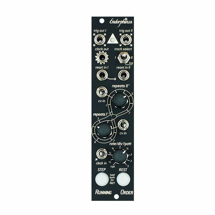 ENDORPHIN.ES - Endorphin.es Running Order Compact 2-Channel Trigger Generator Module