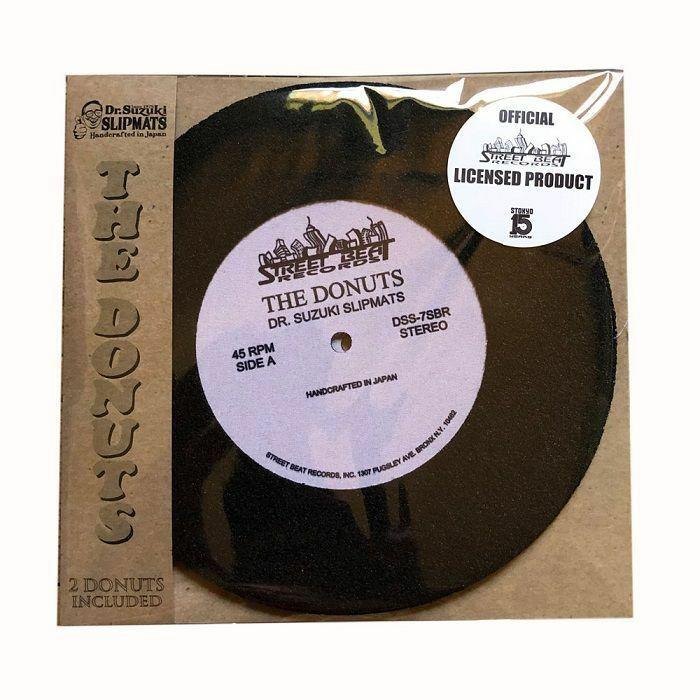DR SUZUKI - Dr Suzuki Vs Street Beat Records Donuts 7 Inch Limited Edition Slipmats