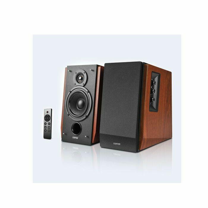 EDIFIER - Edifier 4004971 R1700BTs Bluetooth 5.0 Wireless Bookshelf Speakers (pair, brown)