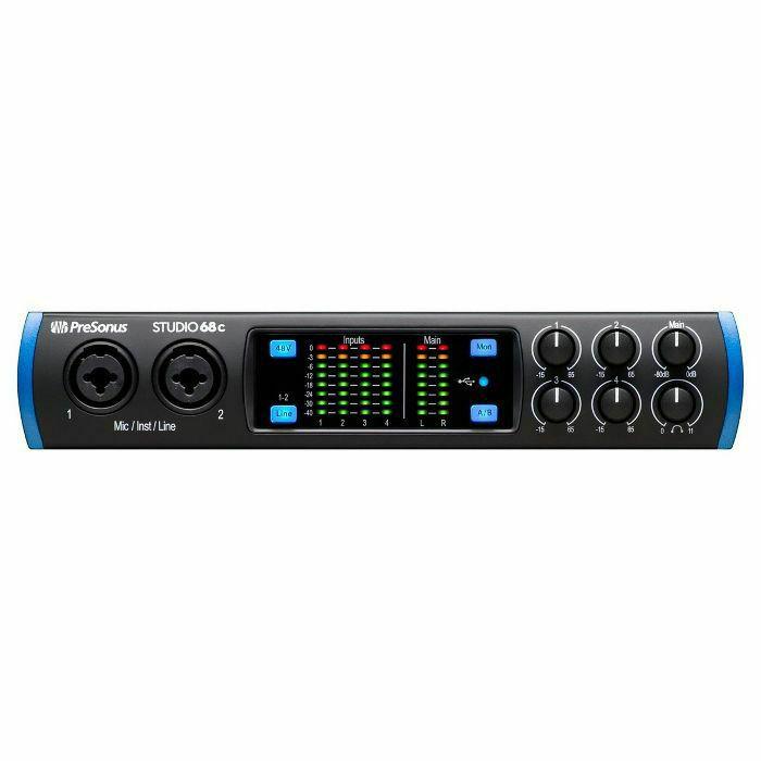 PRESONUS - Presonus Studio 68c 6x6 USB-C Audio Interface (B-STOCK)