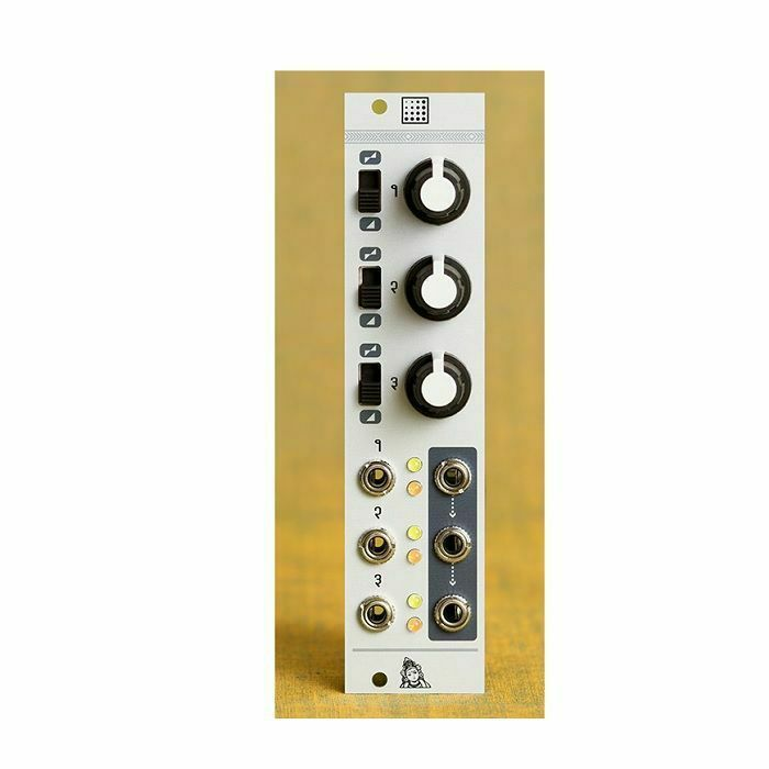 MUTABLE INSTRUMENTS - Mutable Instruments Shades Attenuator Offset Mixer Module (2020)