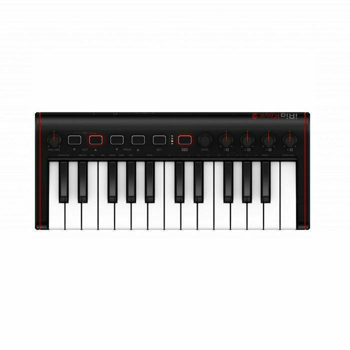 IK MULTIMEDIA - IK Multimedia iRig Keys 2 Mini Universal MIDI Keyboard Controller For iOS Android & MAC/PC (B-STOCK)