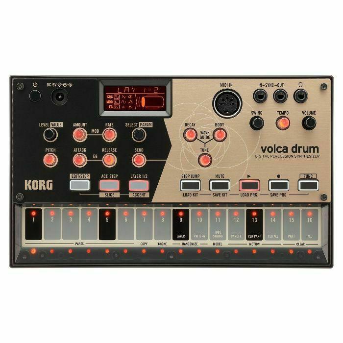 KORG - Korg Volca Drum Digital Percussion Synthesiser (B-STOCK)