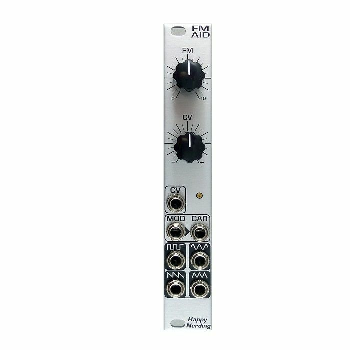 HAPPY NERDING - Happy Nerding FM AID Through-Zero Linear Frequency Modulator Module (silver)
