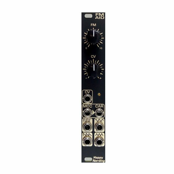 HAPPY NERDING - Happy Nerding FM AID Through-Zero Linear Frequency Modulator Module (black)