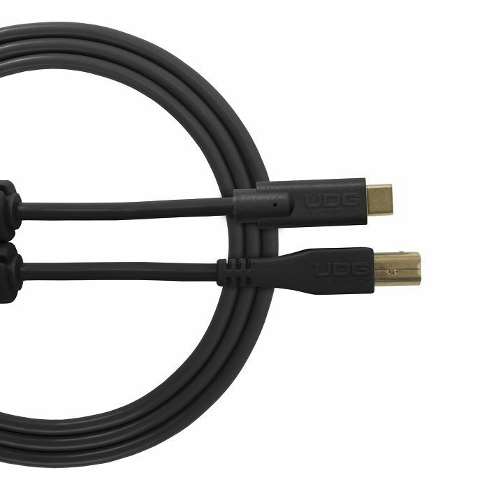 UDG - UDG Ultimate Straight USB 2.0 Type C-B Audio Cable (1.5m, black)