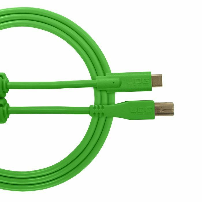 UDG - UDG Ultimate Straight USB 2.0 Type C-B Audio Cable (1.5m, green)