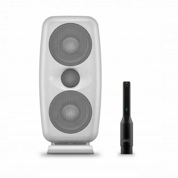 IK MULTIMEDIA - IK Multimedia iLoud MTM Powered Studio Reference Monitor With Measurement Microphone (single, white) (B-STOCK)