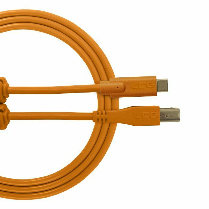 UDG - UDG Ultimate Straight USB 2.0 Type C-B Audio Cable (1.5m, orange)