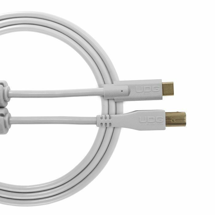 UDG - UDG Ultimate Straight USB 2.0 Type C-B Audio Cable (1.5m, white)