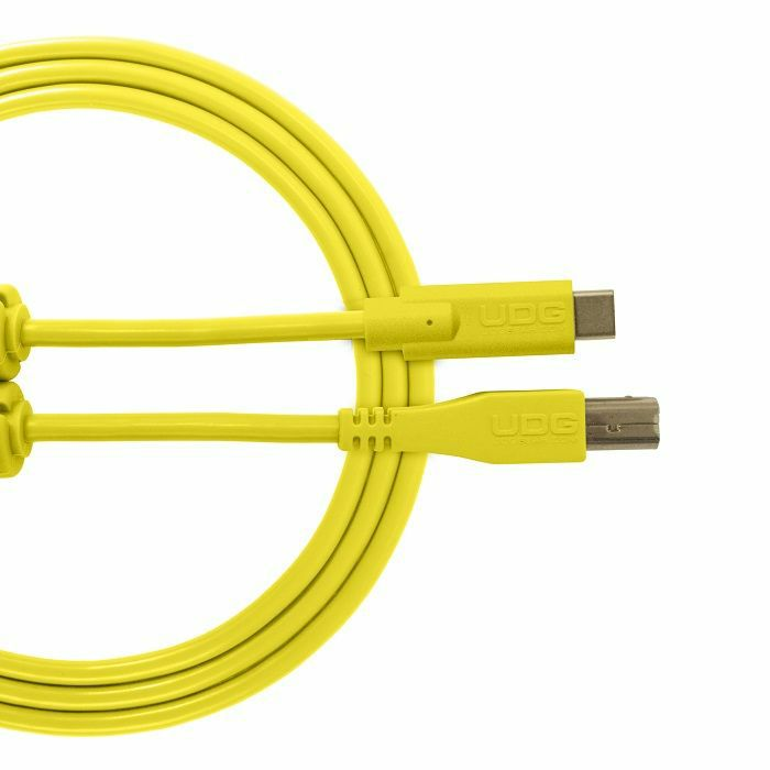 UDG - UDG Ultimate Straight USB 2.0 Type C-B Audio Cable (1.5m, yellow)