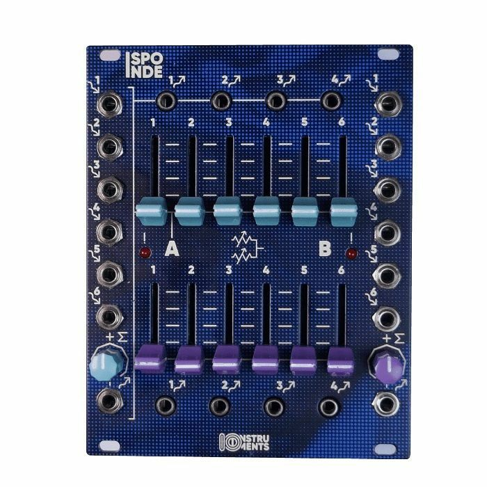 IO INSTRUMENTS - IO Instruments SPONDE 6-Channel Audio & CV Mixer Module
