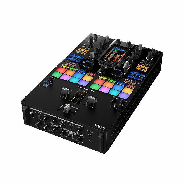 PIONEER - Pioneer DJ DJM-S11 Professional Scratch Style 2-Channel DJ Mixer (black)