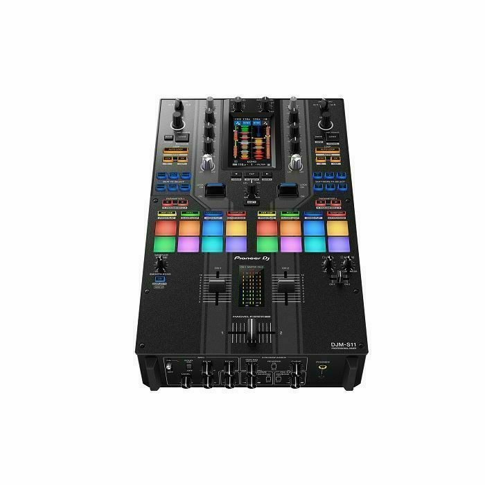 PIONEER - Pioneer DJ DJM-S11 Professional Scratch Style 2-Channel DJ Mixer (special edition)