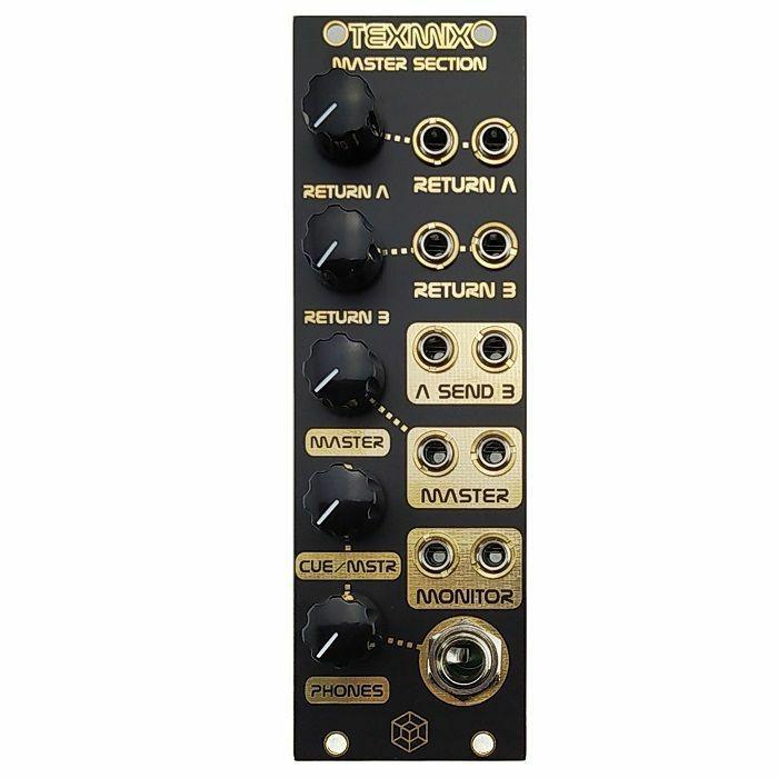TESSERACT MODULAR - Tesseract Modular Tex Mix Master Section Expandable Mixer Module