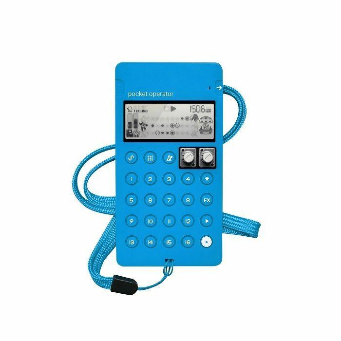 TEENAGE ENGINEERING - Teenage Engineering CA-X Case Compatible With All Pocket Operators (blue)