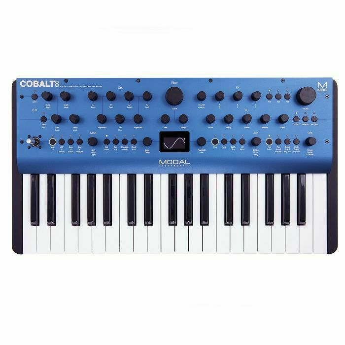 MODAL ELECTRONICS - Modal Electronics COBALT8 8-Voice 37-Key Extended Virtual-Analogue Synthesiser