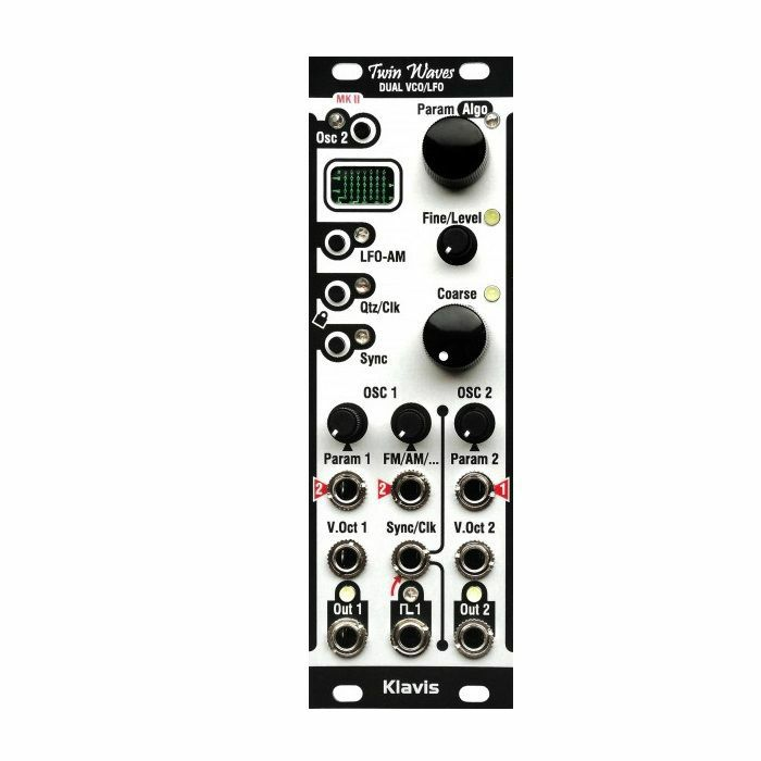KLAVIS - Klavis Twin Waves MK2 Voltage-Controlled Dual VCO & LFO Module