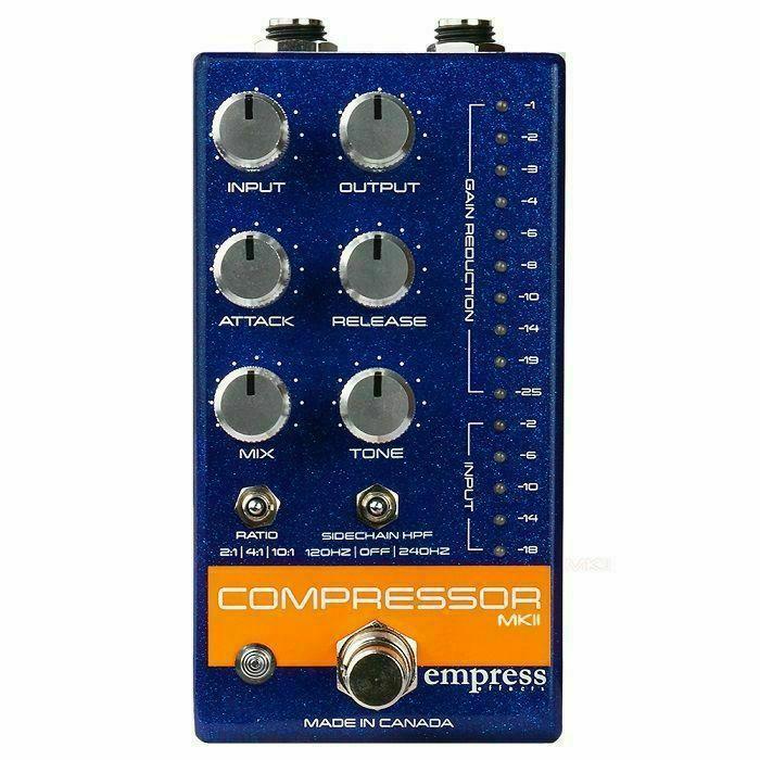 EMPRESS EFFECTS - Empress Effects Compressor MKII Effects Pedal (blue)