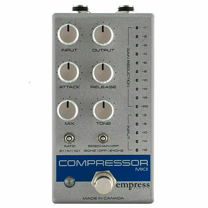 EMPRESS EFFECTS - Empress Effects Compressor MKII Effects Pedal (silver)