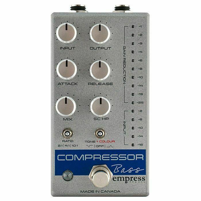 EMPRESS EFFECTS - Empress Effects Bass Compressor Effects Pedal (silver)