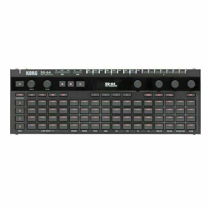 KORG - Korg SQ-64 Compact Polyphonic Step Sequencer