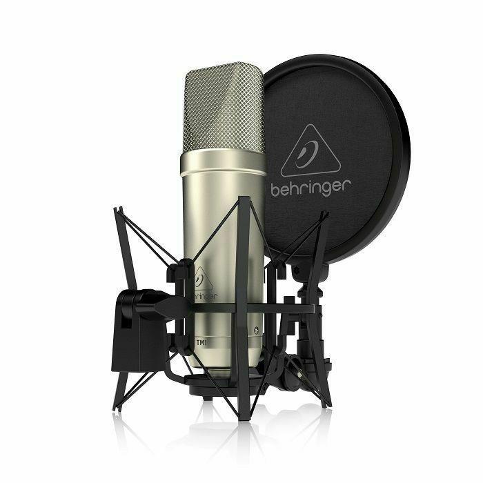 BEHRINGER - Behringer TM1 Complete Recording Package With Large Diaphragm Condenser Microphone