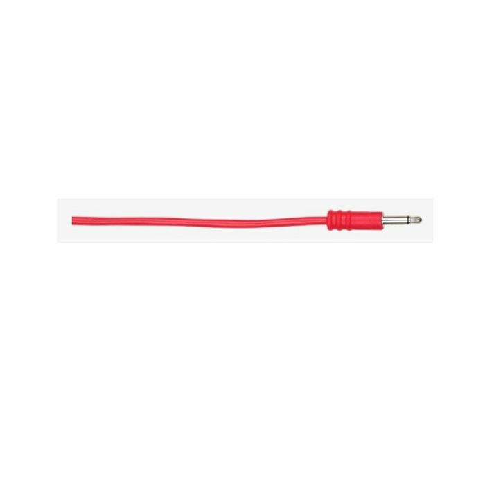 ALM - ALM Custom 3.5mm Male Mono Eurorack Patch Cables (15cm, red, pack of 5)