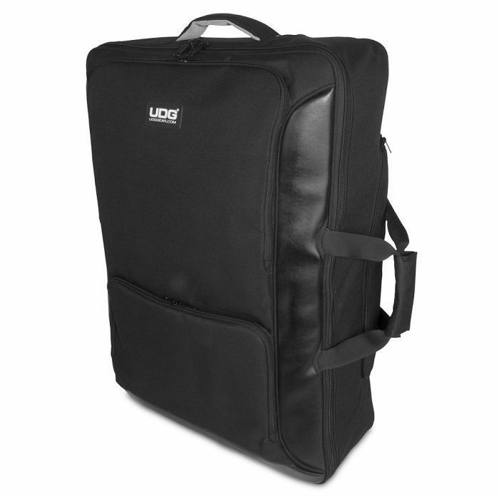 UDG - UDG Urbanite Midi Controller Backpack Extra Large (black) For Pioneer XDJ-RX2 & XDJ-RX / Denon Prime 4 & MCX8000 / Roland DJ-808