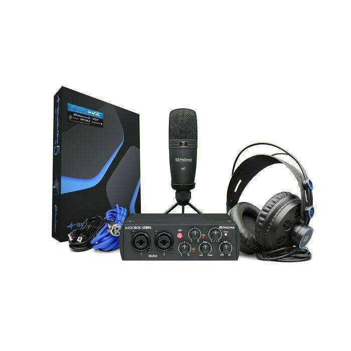 PRESONUS - Presonus AudioBox 96 Studio 25th Anniversary Edition Hardware & Software Recording Kit (B-STOCK)