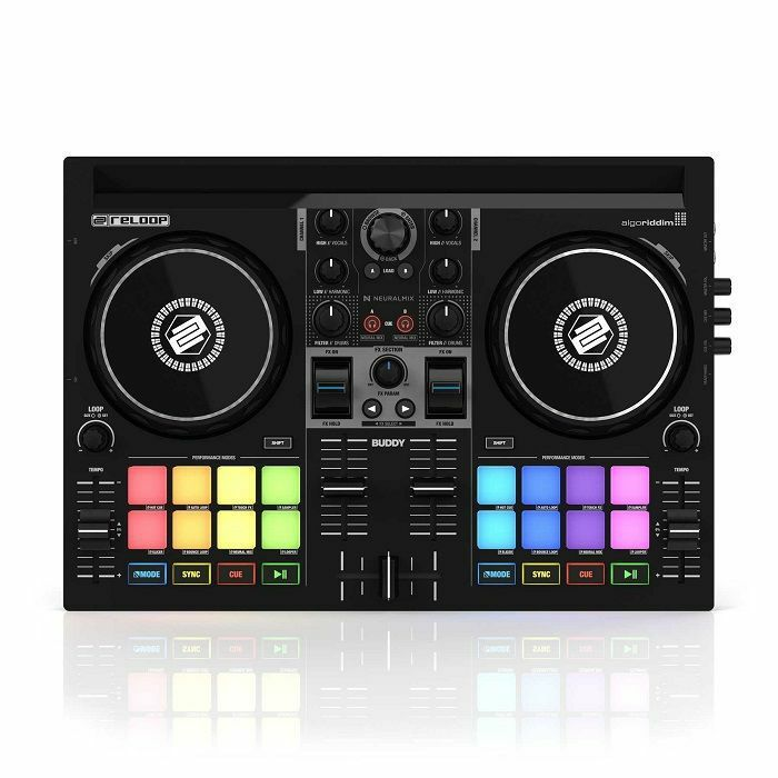 RELOOP - Reloop Buddy Compact 2-Deck DJay Controller For iOS/iPad OS/Android/Mac & PC