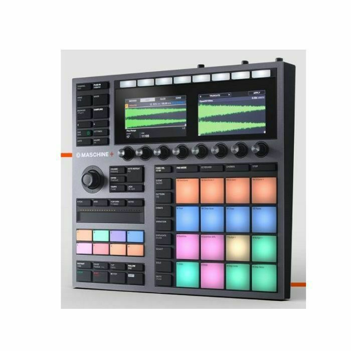 NATIVE INSTRUMENTS - Native Instruments Maschine+ Standalone Production & Performance Instrument (B-STOCK)