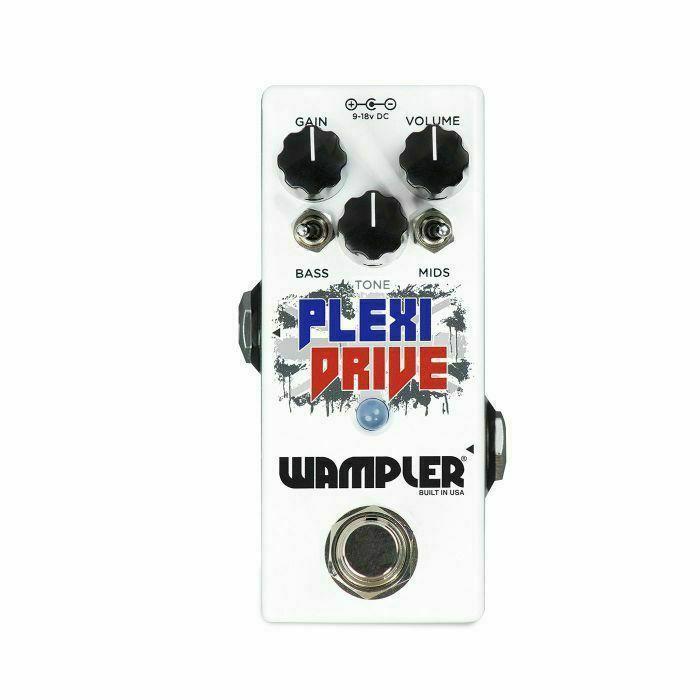 WAMPLER - Wampler Plexi Drive Mini Effects Pedal