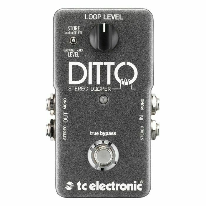 TC ELECTRONIC - TC Electronic Ditto Stereo Looper Pedal (B-STOCK)