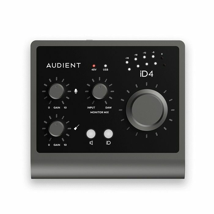 AUDIENT - Audient iD4 MKII 2-In 2-Out High Performance USB Audio Interface With Scroll Control