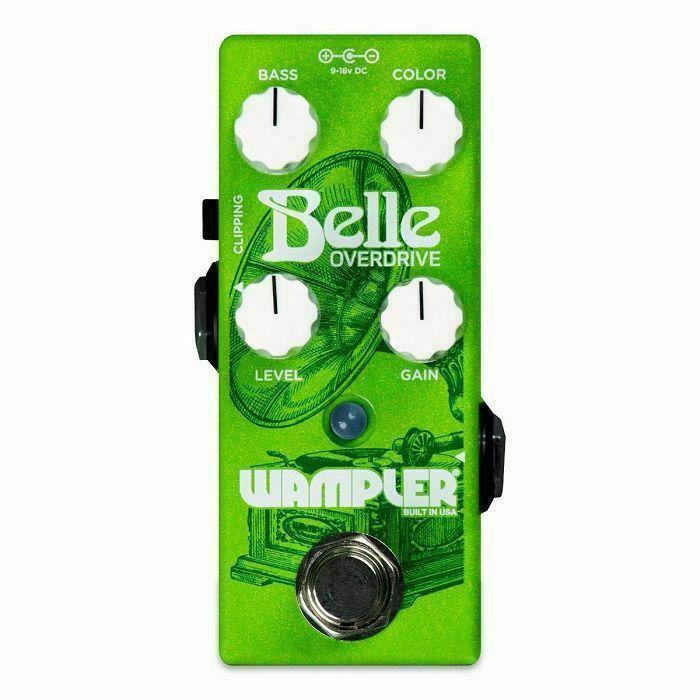 WAMPLER - Wampler Belle Overdrive Effects Pedal