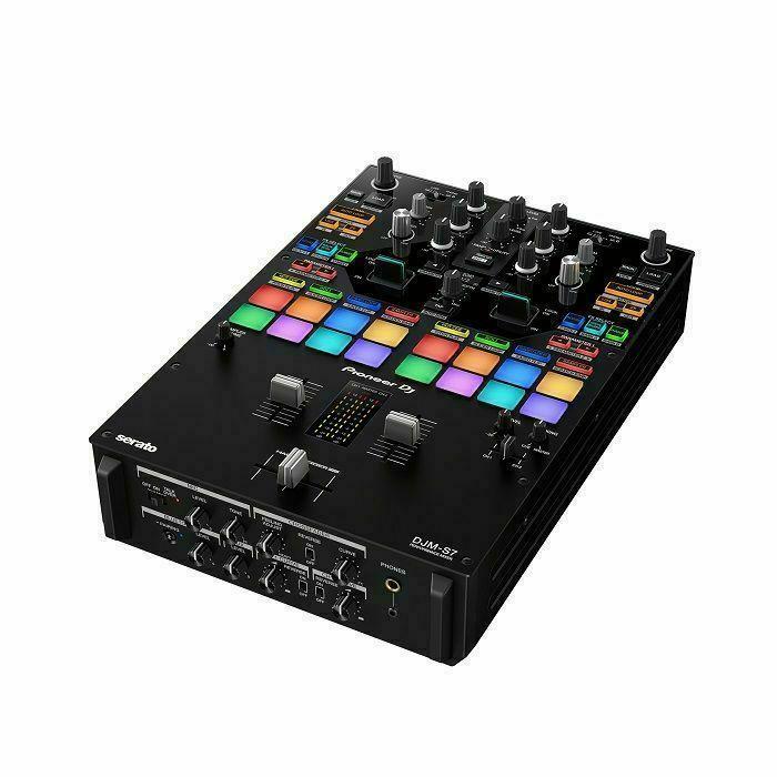 PIONEER DJ - Pioneer DJ DJM-S7 Scratch-Style 2-Channel Performance DJ Mixer