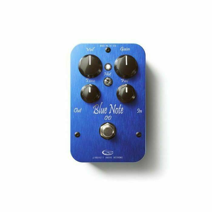 J ROCKETT - J Rockett Blue Note Low Gain Blues Overdrive Effects Pedal (blue) (B-STOCK)