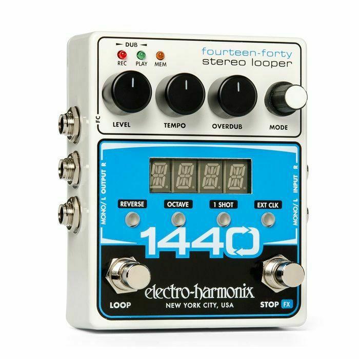 ELECTRO HARMONIX - Electro Harmonix 1440 Fourteen-Fourty Stereo Looper Pedal (B-STOCK)