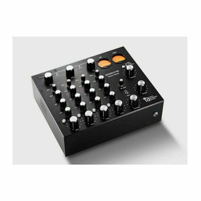 ALPHA RECORDING SYSTEM - Alpha Recording System Model 9100 4-Channel Rotary DJ Mixer (black)