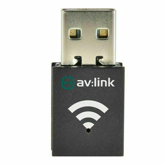 AV LINK - AV Link 300Mbps Mini Wireless-N USB Adaptor