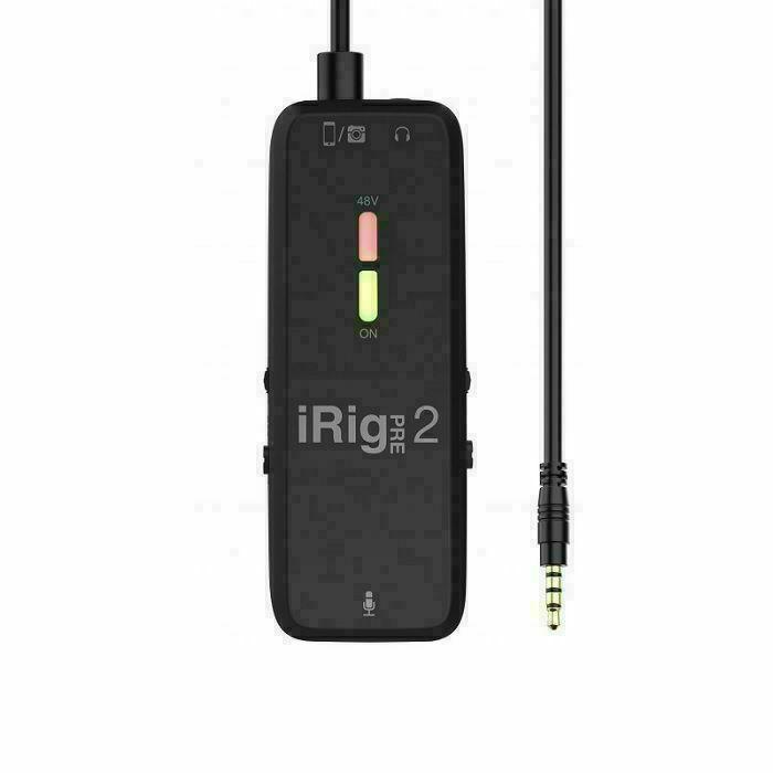 IK MULTIMEDIA - IK Multimedia iRig Pre 2 XLR Microphone Interface & Preamp For iOS/Android/Digital Cameras