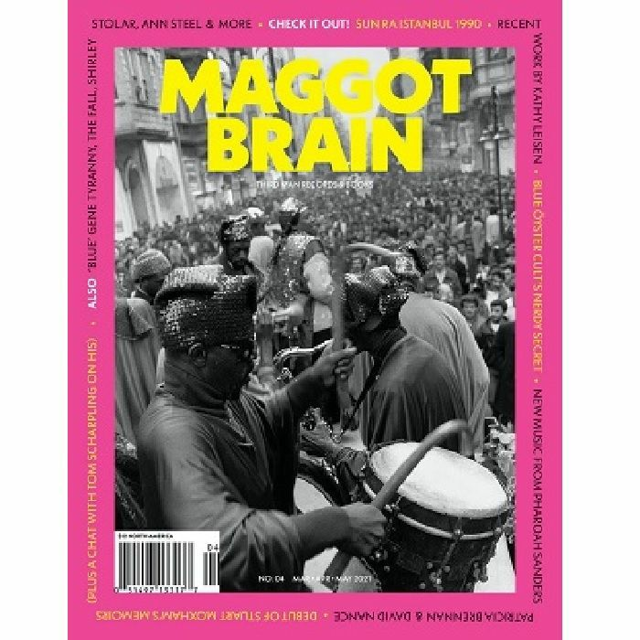 MAGGOT BRAIN/THIRD MAN RECORDS - Maggot Brain Magazine #4