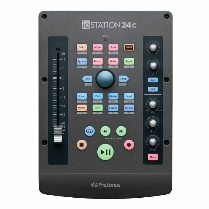PRESONUS - Presonus ioStation 24c Audio Interface & Production Controller *** RECEIVE €30 CASHBACK FROM PRESONUS WITH THIS PRODUCT UNTIL 31ST MARCH 2021 *** *** GET 3 MONTHS OF FREE AUTOTUNE UNLIMITED WITH THIS PRODUCT IF PURCHASED BETWEEN 1st MARCH-31st M (B-STOCK)