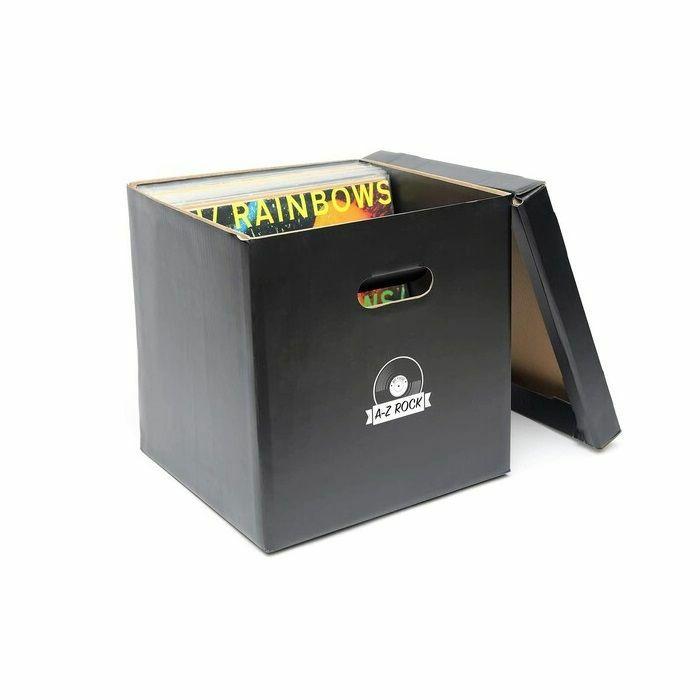"""BIG FUDGE - Big Fudge 12"""" LP Vinyl Record Storage Cube (set of 5, black)"""