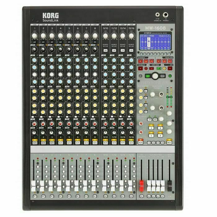 KORG - Korg SoundLink MW1608 Hybrid Analogue & Digital Mixer (SHOWROOM STOCK)
