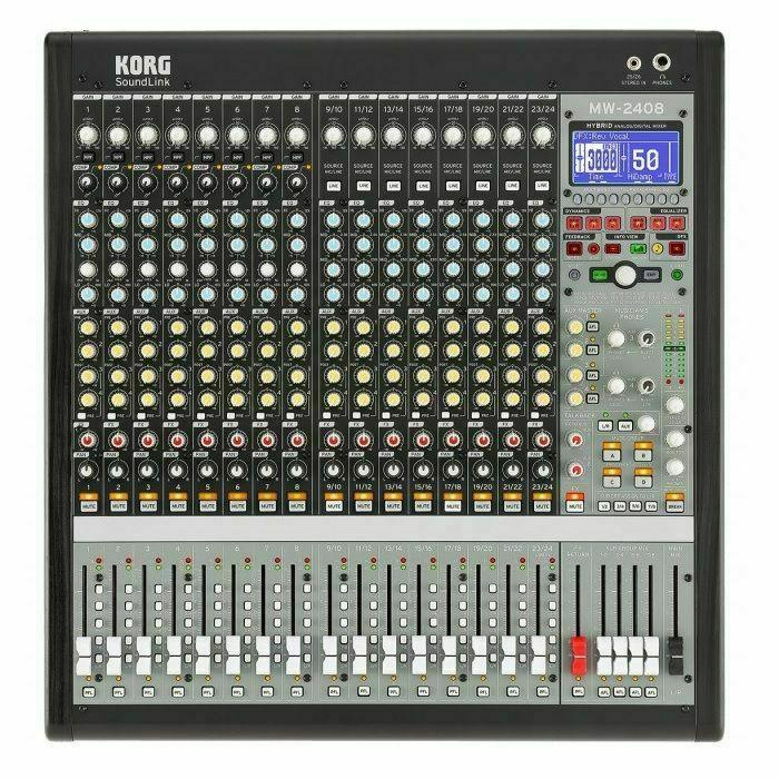 KORG - Korg SoundLink MW2408 Hybrid Analogue & Digital Mixer (SHOWROOM STOCK)