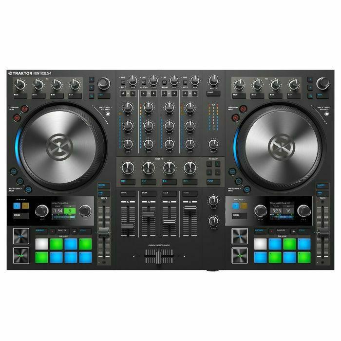 NATIVE INSTRUMENTS - Native Instruments Traktor Kontrol S4 Mk3 DJ Controller With Traktor Pro 3 Software (B-STOCK)