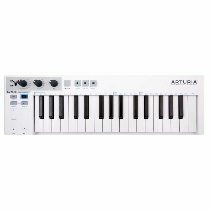 ARTURIA - Arturia KeyStep Portable USB MIDI Keyboard Controller & Sequencer (B-STOCK)