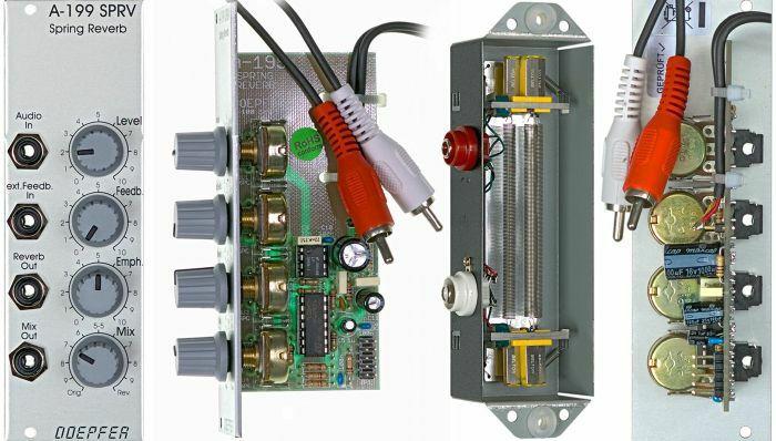 DOEPFER - Doepfer A199 Federhall Spring Reverb Module (B-STOCK)